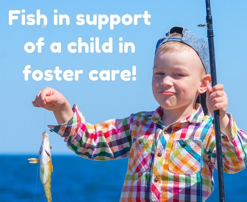 Fish in support of a child in foster care! cropped