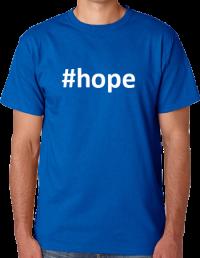 blue hope shirt