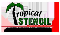 Tropical Stencil logo