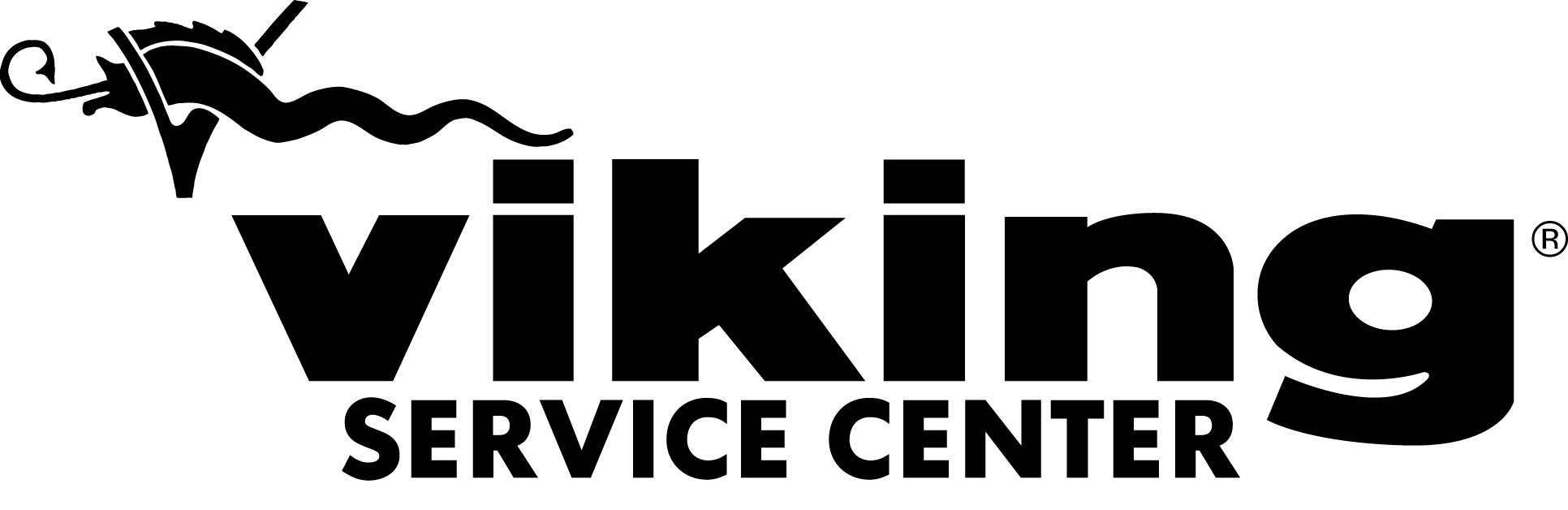 Viking service center logo