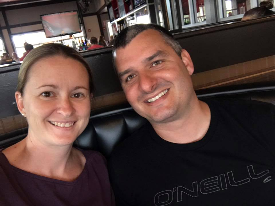Sara and Brandon Comeau