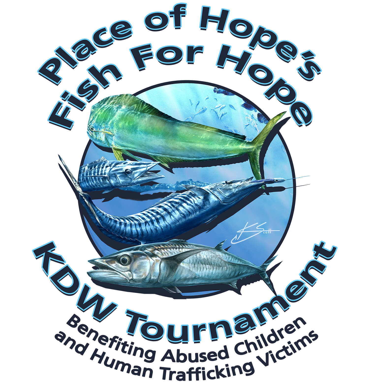 2018 Fish For Hope Tournament LOGO