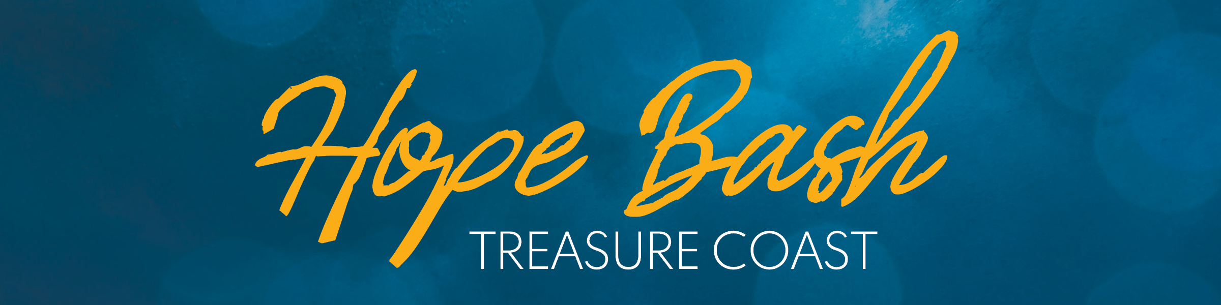 Hope Bash Treasure Coast Header iamge